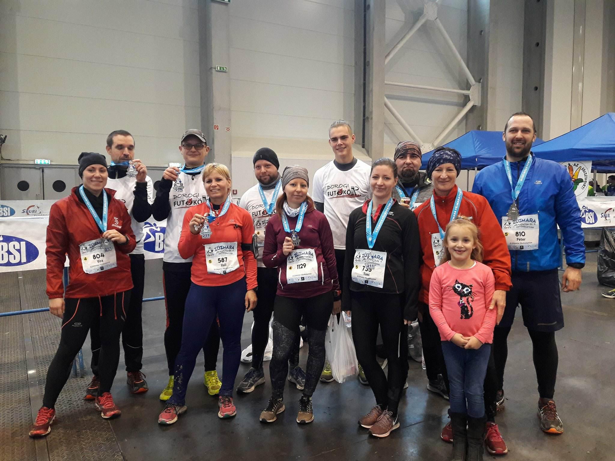 3. Zúzmara Félmaraton és Futófesztivál – élménybeszámoló – 2018. január 14.