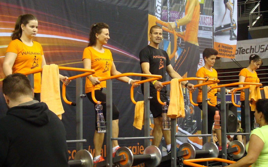 Dorogi edzők a Fitbalance rendezvényen
